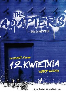 Koncert Adapters + The Louders