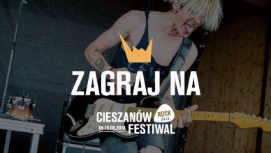 Zagraj na festiwalu w Cieszanowie