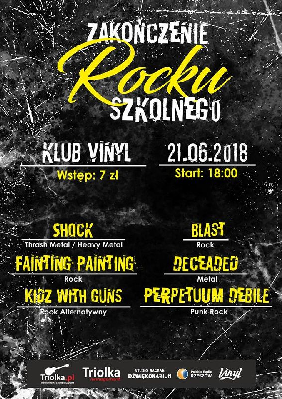Zakończenie Rocku szkolnego w Klubie Vinyl
