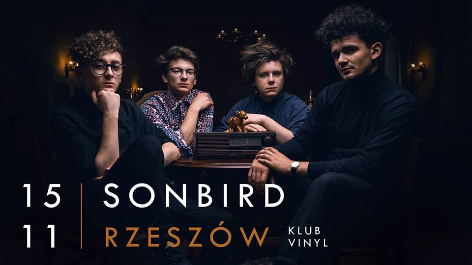 Sonbird koncert w klubie Vinyl