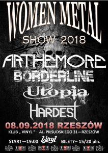 ARTHEMORE Women Metal Show. Vinyl Rzeszów