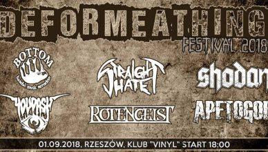 Deformeathing Festival 2018 Klub Vinyl