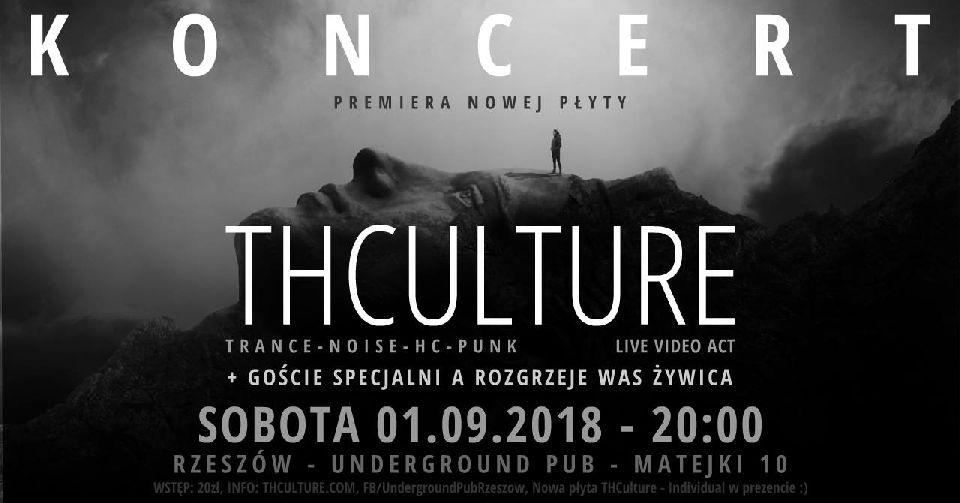 THCulture koncert promujący nową płytę