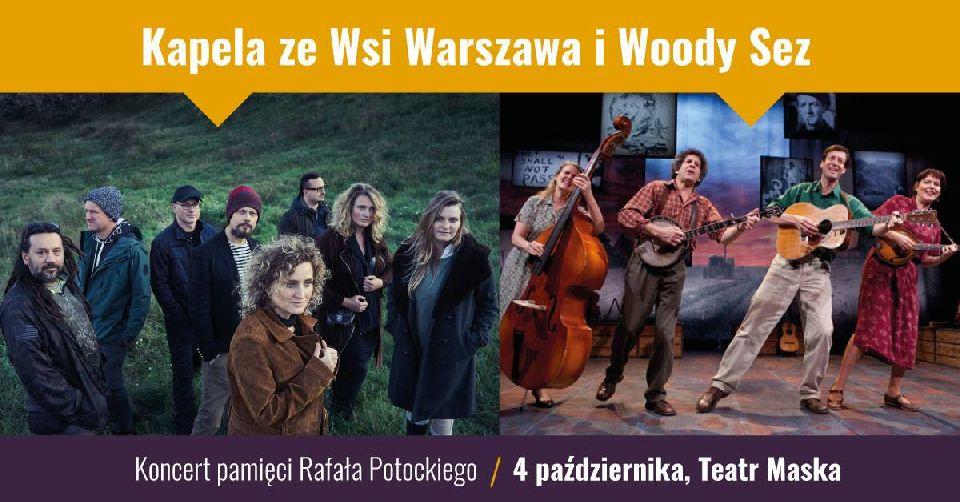Kapela ze Wsi Warszawa w Teatrze Maska