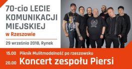 Koncert zespołu Piersi