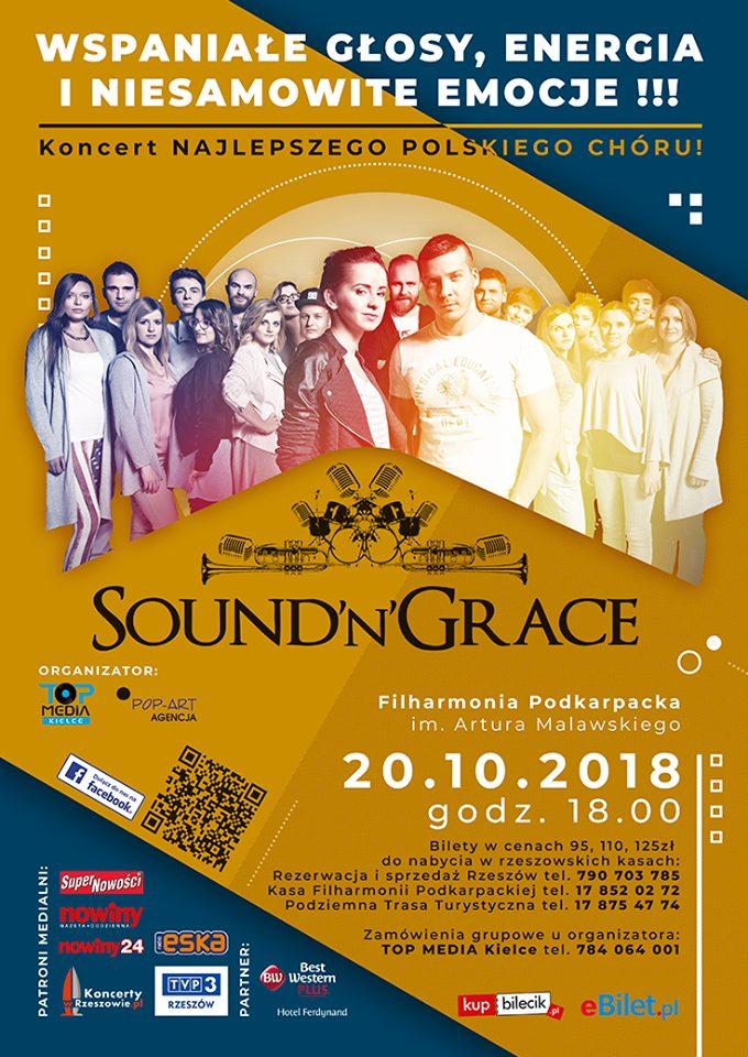 Sound'n'Grace - koncert wRzeszowie