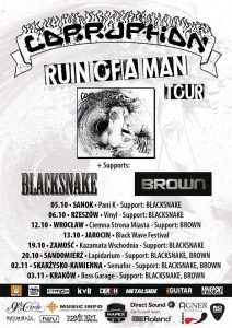 Ruin of a Man Tour - Corruption, Black Snake