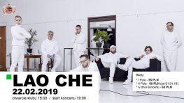 Lao Che koncert wklubie PodPalmą