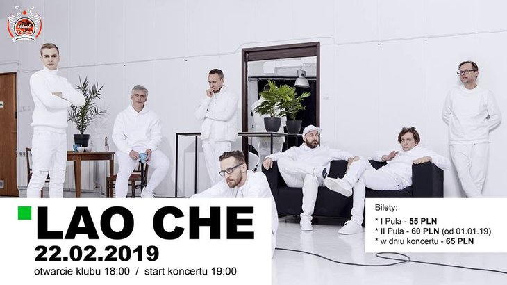 Lao Che koncert w klubie Pod Palmą