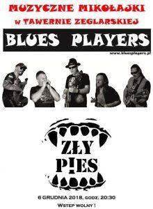Blues Players i Zły Pies w Tawernie Żeglarskiej