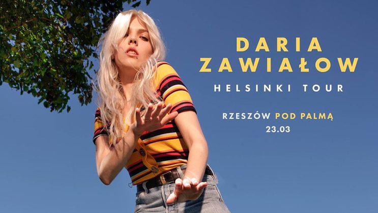 Daria Zawiałow | Helsinki Tour