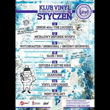 Koncerty w Vinylu. Styczeń 2019