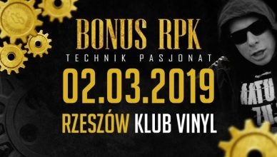 Bonus RPK - Technik Pasjonat - Rzeszów / Klub Vinyl