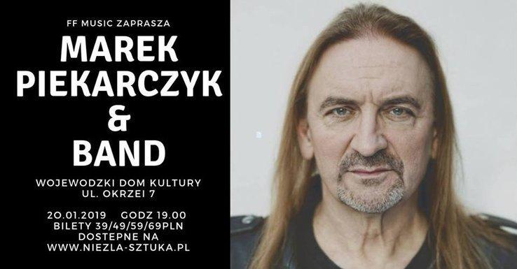 Marek Piekarczyk & Band, koncerty w WDK Rzeszów