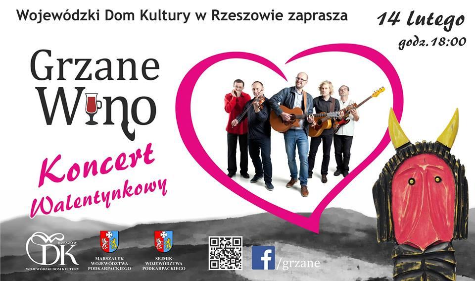 """Grzane Wino - ZespółGrzane Wino - """"Koncert Walentynkowy"""""""