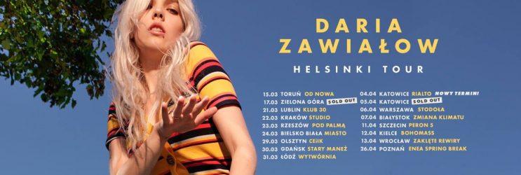 Daria Zawiałow koncert Pod Palmą