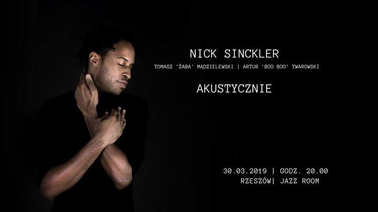 Nick Sinckler Akustycznie