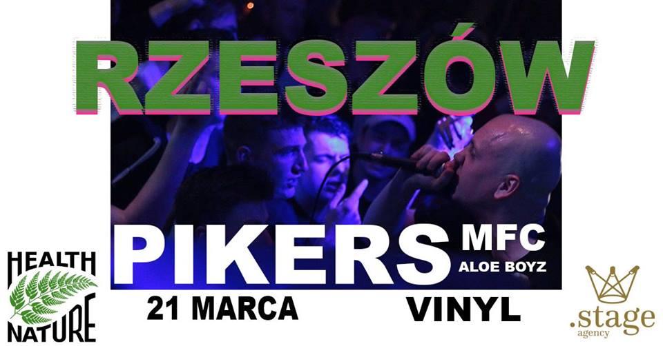 Pikers & MFC Rzeszów w klubie Vinyl