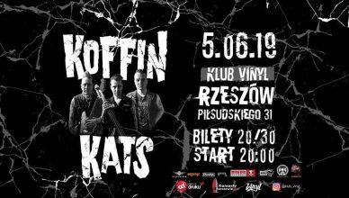 Koffin Kats koncert Rzeszów