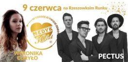 Koncert na Rynku. Wystąpią Weronika Curyło i zespół Pectus.