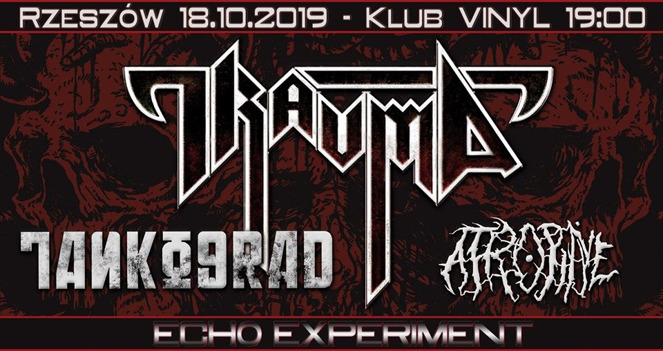 Trauma / Tankograd / Atropine. Koncert w klubie Vinyl