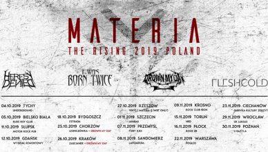 Materia - The Rising Tour 2019 - Rzeszów Klub Vinyl