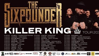 The Sixpounder - Killer King Tour 2019