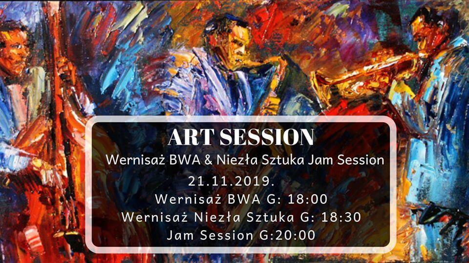 Art session - Wernisaże & Jam session