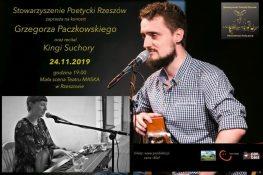 IV spotkanie z(Nie)codzienną dawką poezji podczas którejzagra Grzegorz Paczkowski orazKinga Suchora