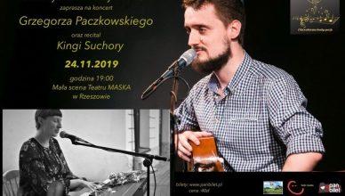 IV spotkanie z (Nie)codzienną dawką poezji podczas której zagra Grzegorz Paczkowski oraz Kinga Suchora