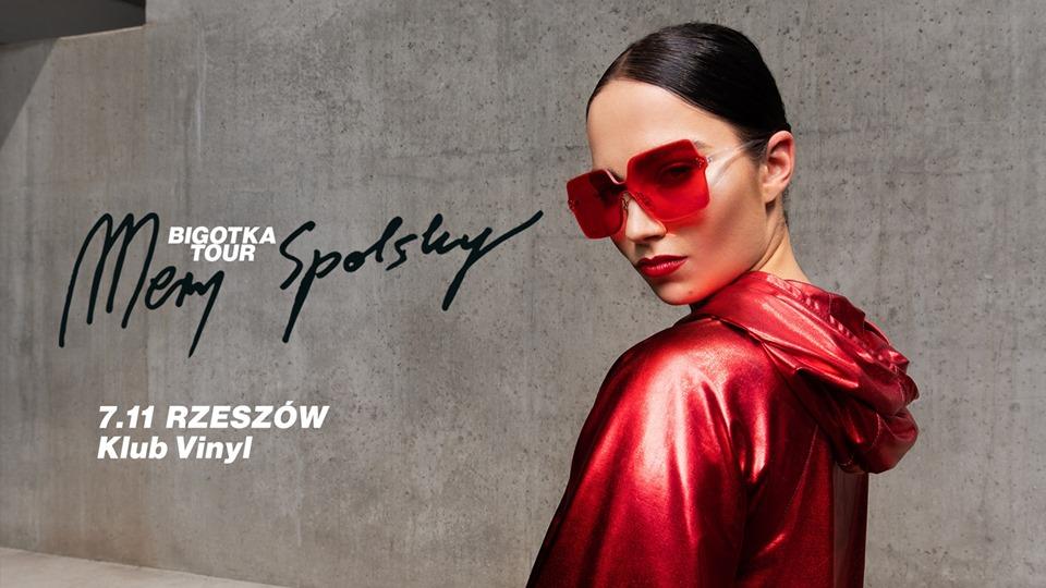 Mery Spolsky na koncercie w klubie Vinyl