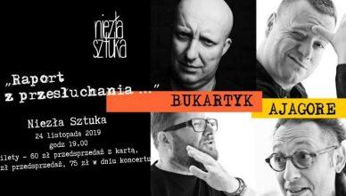 Piotr Bukartyk i zespół Ajagore już w listopadzie w niezłej Sztuce
