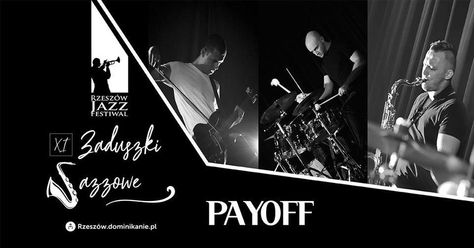 Rzeszów Jazz Festiwal 2019 PAYOFF