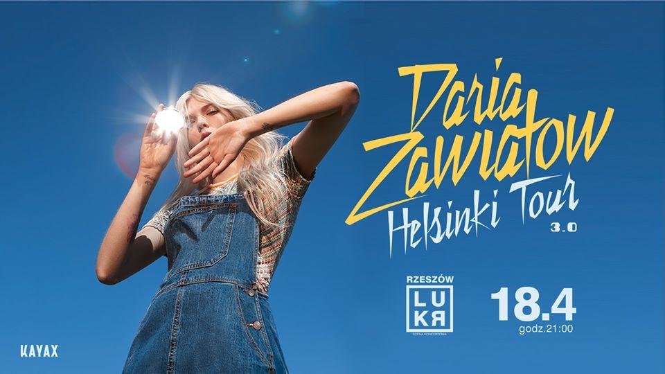 Daria Zawiałow | Helsinki Tour 3.0 - LUKR