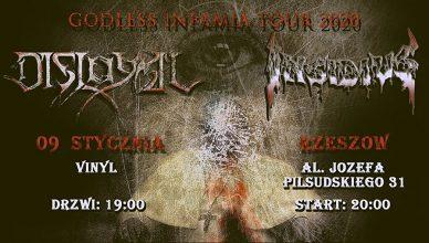 Koncert Disloyal, Insidius + Goście - Klub Vinyl