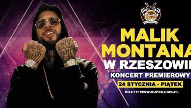Malik Montana w Rzeszowie Koncert Pod Palmą