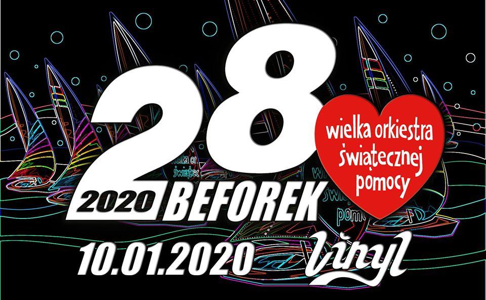 Metalowy beforek WOŚP 2020