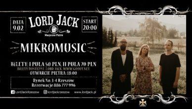 Mikromusic Acoustic Trio w Lord Jack Rzeszów
