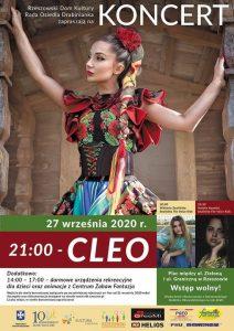 Koncert Cleo i Piknik Rodzinny na Osiedlu Drabinianka
