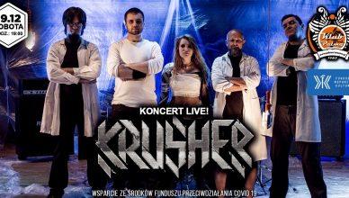 Krusher 19.12 Pod Palmą- Koncert Live