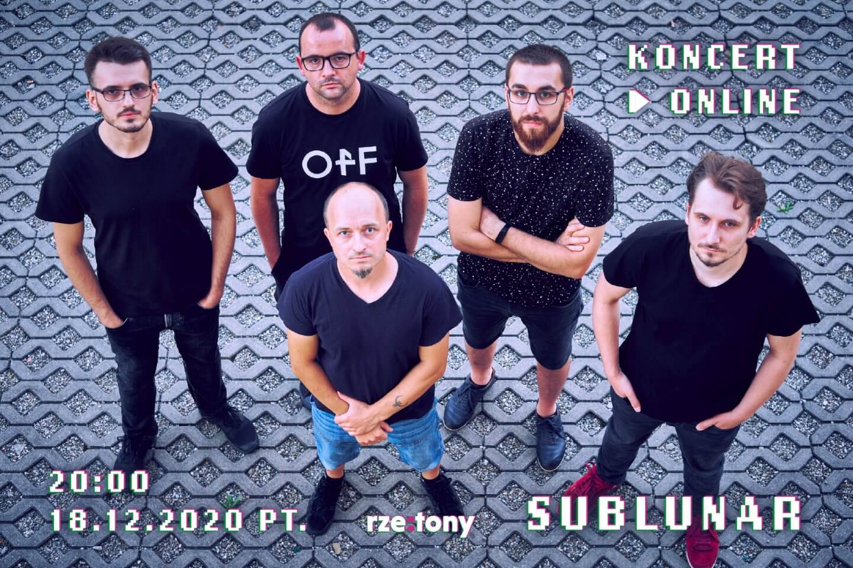 Sublunar - koncert online Rze:Tony